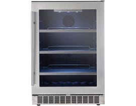 Silhouette Saxony 24 inch 5.6 cu.ft single zone beverage centre in stainless DBC056D2BSSPR