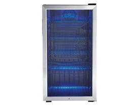 Danby 18 inch 3.3 cu. ft beverage center in stainless DBC120CBLS