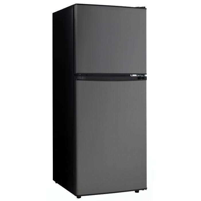 Danby 19 inch 4.7 cu. ft. Compact Refrigerator in grey DCR047A1BBSL