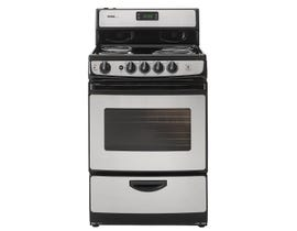 Danby Designer 24 inch 3.0 cu.ft. wide electric coiltop Range in stainless steel DER243BSSC