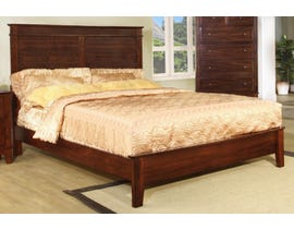 Flair Desoto Series Bed in Walnut