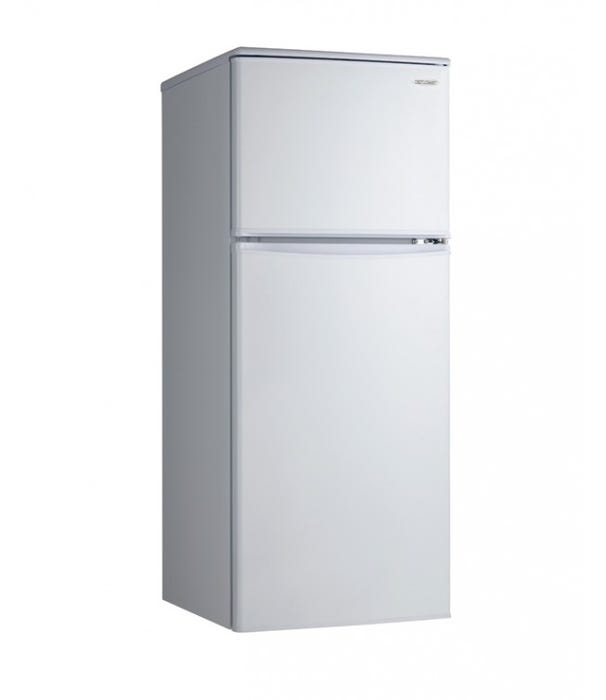 Danby 24 inch 11 cu.ft. apartment size refrigerator in white DFF110A1WDB1
