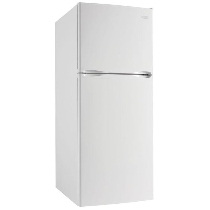 Danby 23.8 inch 12.3 cu.ft. Apartment Size Refrigerator in white DFF123C1WDB
