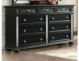Global Furniture Diana Black Dresser BL-DR