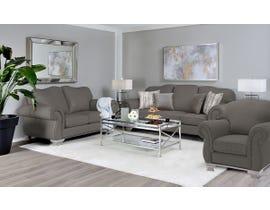 Decor-Rest 3pc Fabric Sofa Set in Maxi Espresso 6933