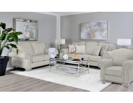 Decor-Rest 3pc Fabric Sofa Set in Pier Taupe 6933