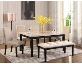 K Elite 6 Piece Nancy Regular Dining Table Set DT1126PCS