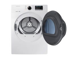 Samsung 24 inch 4.0 cu.ft Wide Electric dryer in white DV22K6800EW