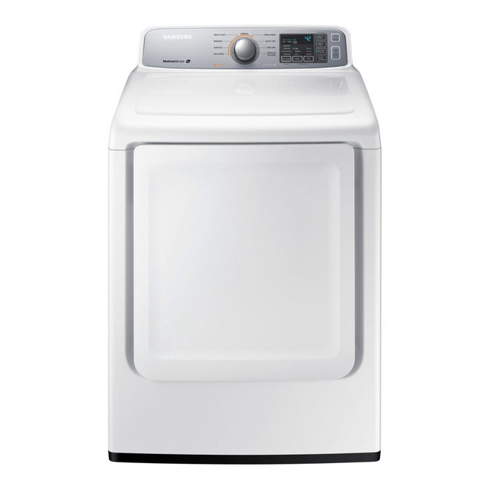 Samsung Electric Dryer 7.4 cu. ft. Front Load 9-Cycle in white DV45H7000EW