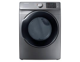 Samsung 27 inch 7.5 cu. ft. Electric Steam Dryer Platinum DVE45M5500P