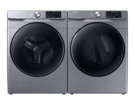 Samsung Laundry Pair 4.5 cu. ft. Washer WF45R6100AP & 7.5 cu. ft. Electric Dryer DVE45T6100P