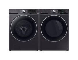 Samsung front load washer & 7.5 front load dryer laundry pair in Black Stainless DVE45R6300V/WF45R6300AV