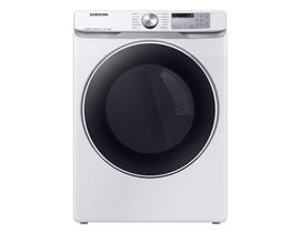 Samsung 7.5 cu. ft. Smart Front Load Electric Dryer with Steam Sanitize+ in White DVE45R6300W