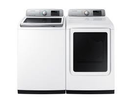 Samsung Laundry Pair 5.8 cu. ft. Washer WA50N7350AW & 7.4 cu. ft. Electric Dryer DVE50N7350W