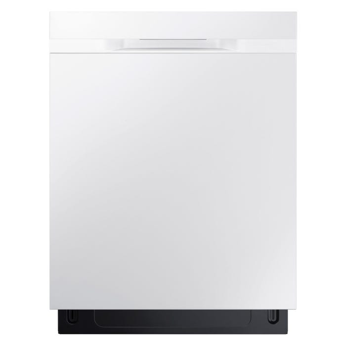 Samsung 24 Inch Tall Tub Built-In Dishwasher in White DW80K5050UW