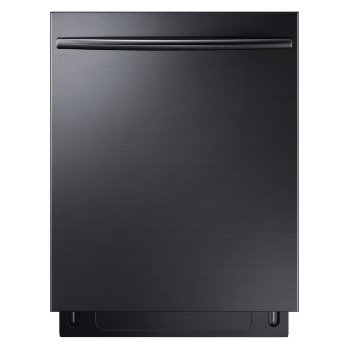Samsung 24 Inch Tall Tub Dishwasher in Black Stainless Steel DW80K7050UG