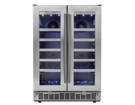 Silhouette 24 inch 4.7 cu.ft french door wine cooler in stainless DWC047D1BSSPR