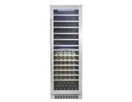 "Silhouette Bordeaux Series 24"" 14.0 cu. ft. Dual Zone Wine Cellar in Stainless Steel DWC140D1BSSPR"