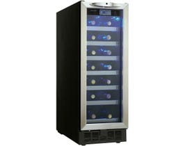 Silhouette 12 inch 2.52 cu.ft single zone wine cellar in stainless DWC276BLS