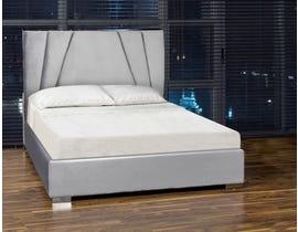 K Living Ralf Series Bed in Grey DZ90323