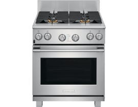 "Electrolux 30"" 4.6 cu. ft. ICON® Freestanding Range Dual-Fuel in Stainless Steel E30DF74TPS"