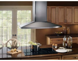 Broan 480 CFM Island Chimney Hood in Stainless Steel E5490SS