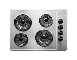 Frigidaire 30 inch Electric Cooktop in stainless steel FFEC3005LS