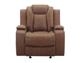 New Classic Dyer Series Manual Recliner in Daytona Tan U1716