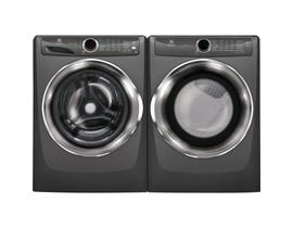 Electrolux Laundry Pair 5.0 cu. ft. Washer EFLS527UTT & 8.0 cu. ft. Electric Dryer in Titanium EFMC527UTT
