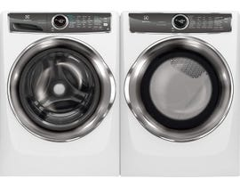 Electrolux Laundry Pair 5.1 cu. ft. Washer EFLS627UIW & 8.0 cu. ft. Electric Dryer in White EFMC627UIW