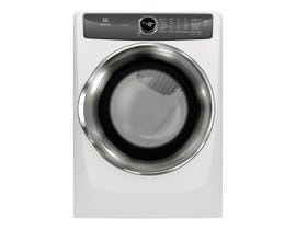 Electrolux 27 inch 8.0 cu. ft. Perfect Steam Electric Dryer with Instant Refresh in White EFMC527UIW