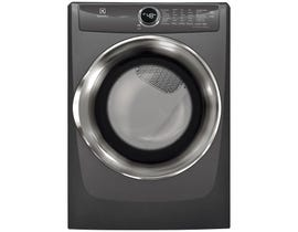 Electrolux 27 inch 8.0 cu. ft. Front Load Perfect Steam Electric Dryer with Instant Refresh in Titanium EFMC527UTT