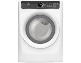 Electrolux 27 inch 8.0 cu. ft. Perfect Steam Gas Dryer in White EFMG427UIW