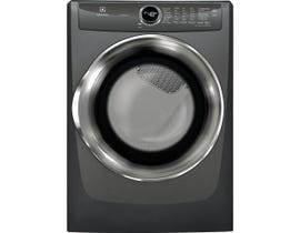 Electrolux 27 inch 8.0 cu. ft. Front Load Perfect Steam Gas Dryer with Instant Refresh in Titanium EFMG527UTT