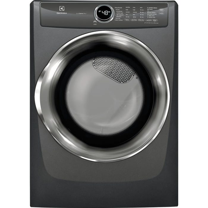 Electrolux 27 inch 8.0 Cu. Ft. Front Load Perfect Steam Gas Dryer with Instant Refresh and 8 cycles EFMG527UTT