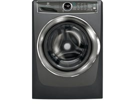 Electrolux 27 inch 8.0 cu.ft. Front Load Perfect Steam Gas Dryer with Instant Refresh in Titanium EFMG627UTT