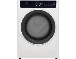 Electrolux 8.0 cu.ft. Front Load Perfect Steam™ Electric Dryer with Instant Refresh in White ELFE743CAW
