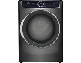 Electrolux 8.0 cu.ft. Front Load Perfect Steam™ Electric Dryer with Predictive Dry™ and Instant Refresh in Titanium ELFE753CAT