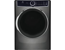 Electrolux Front Load Perfect Steam™ Electric Dryer with Balanced Dry™ and Instant Refresh in Titanium ELFE763CAT