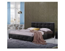 Sinca Elise King Platform Bed in Black M17346