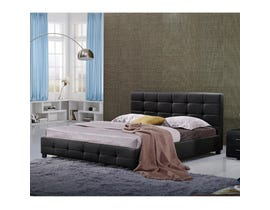 Sinca Elise Queen Platform Bed in Black