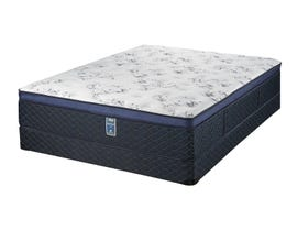 Modern Furniture Evelyn Series Euro Top Firm Full Mattress Set