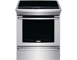 "Electrolux 30"" 4.6 cu. ft. Induction Built-In Range with Wave-Touch® Controls in Stainless Steel EW30IS8CRS"