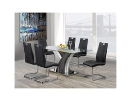 Brassex Jerome 7-piece Dining Set Grey F-790-SET