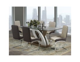 Brassex Donatello 7-piece Dining Set Light Brown F-910-SET