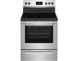 Frigidaire 30 inch 5.3 cu. ft. Electric Range in Stainless Steel FCRE305CAS