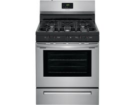 """Frigidaire 30"""" 5.0 cu. ft. Gas Range in Stainless Steel FCRG3052AS"""