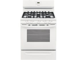 "Frigidaire 30"" 5.0 cu. ft. Gas Range in White FCRG3052AW"