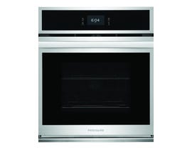 Frigidaire 27 inch Single Electric Wall Oven with Fan Convection in Stainless Steel FCWS2727AS