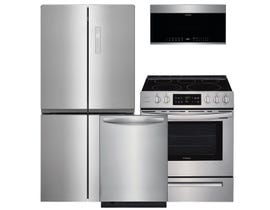Frigidaire 3pc Appliance Package in Stainless Steel 112260 115329 119890